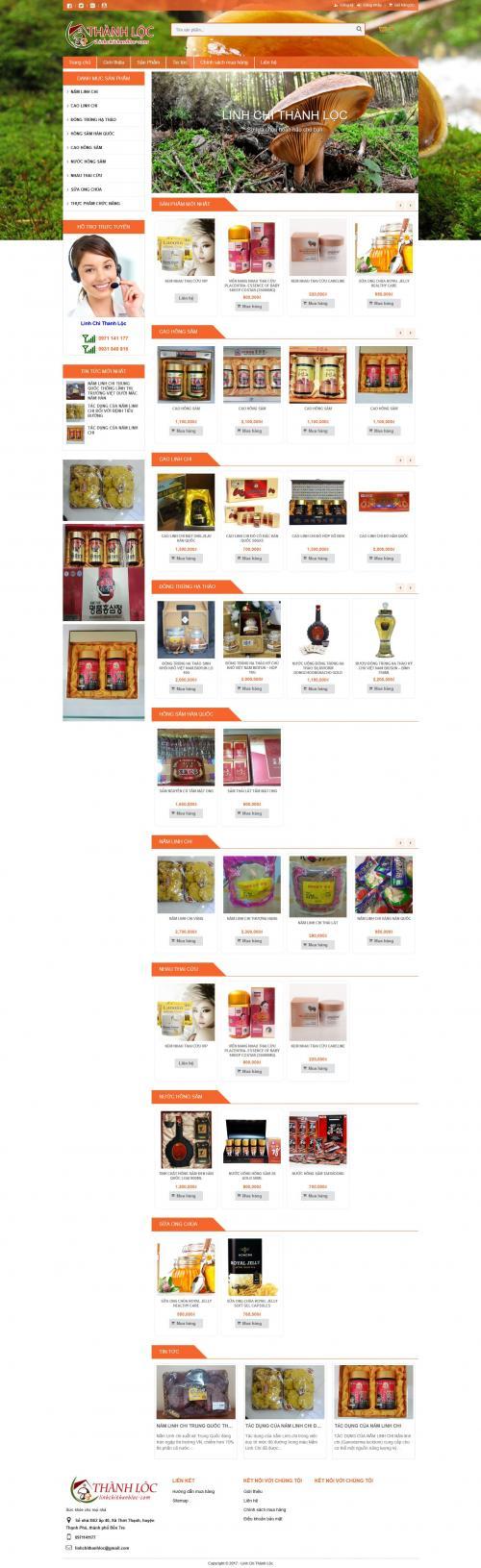 Thiết kế website bán dược phẩm