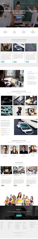 Thiết kế website dạy học tiếng anh
