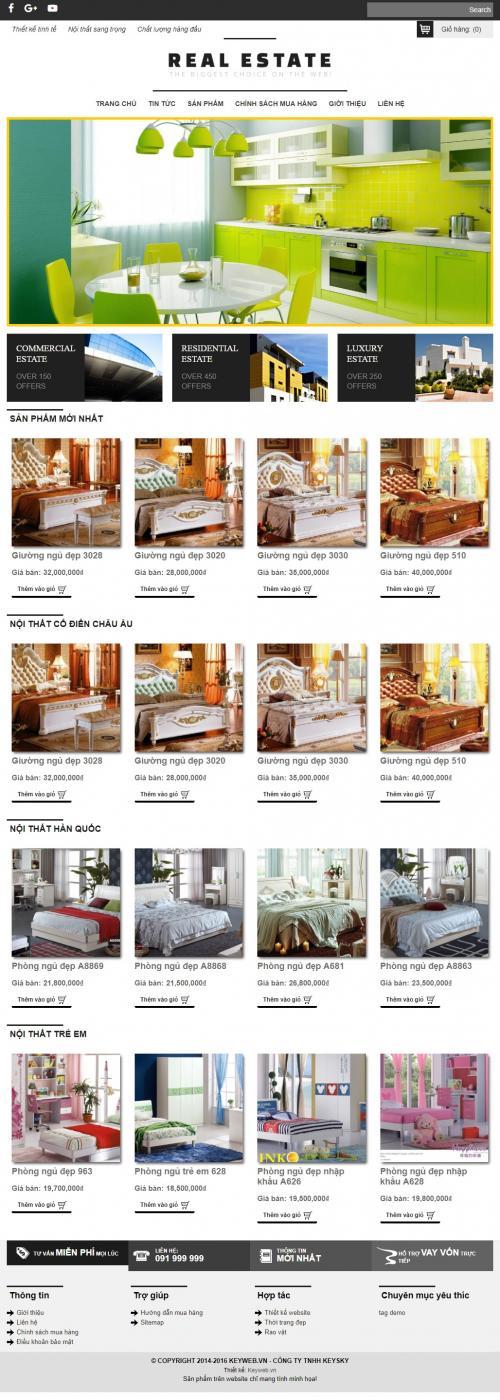 Dự án giường ngủ,nội thất