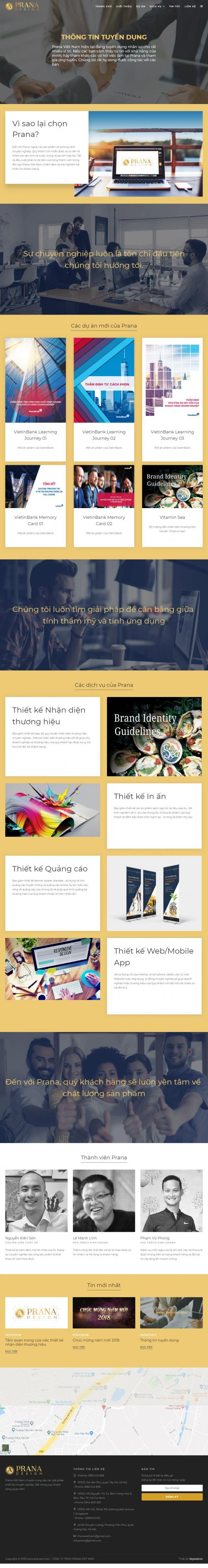Thiết kế website doanh nghiệp xây dựng