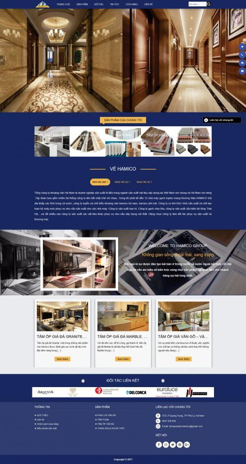 Thiết kế website dịch vụ khách sạn 2